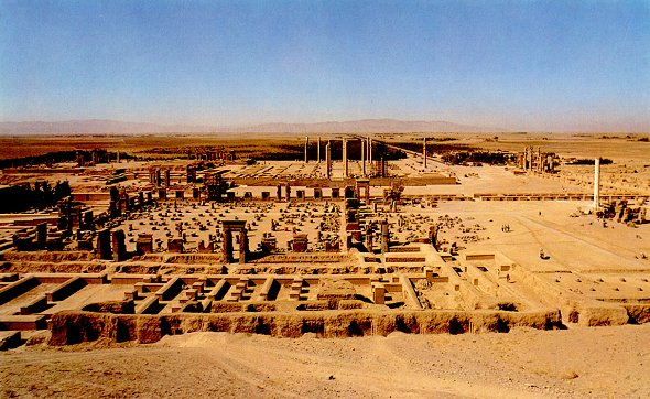A view over Persepolis from 