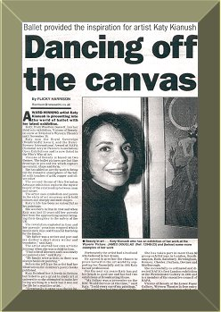 Media coverage of Katy's 'Visions of Beauty' Solo Exhibition