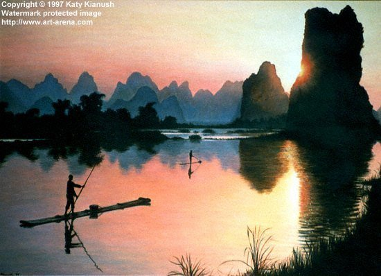 The Strange Peaks at Guilin